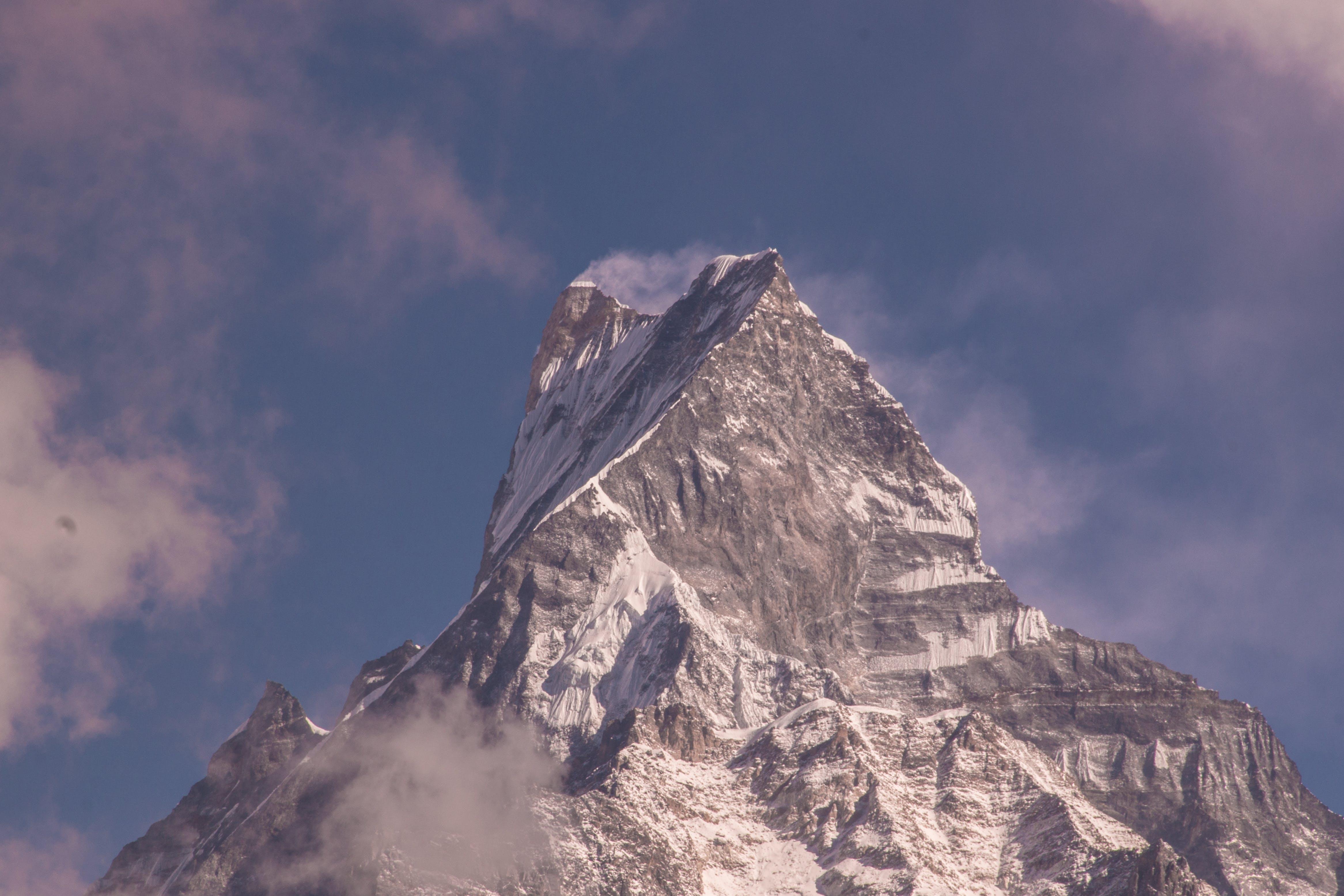 berg, bergstopp, dagsljus