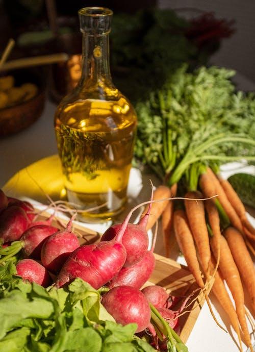 A Close-Up Shot of Vegetables