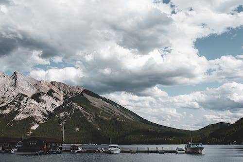 Photos gratuites de bateaux, ciel, lac