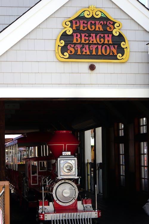 Free stock photo of railroad, train, train station