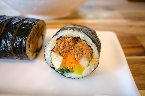 Close-Up Photo of a Mouth-Watering Maki