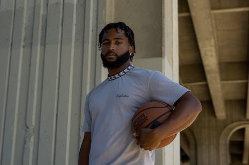 Kostnadsfri bild av allvarlig, ansiktsuttryck, basketboll