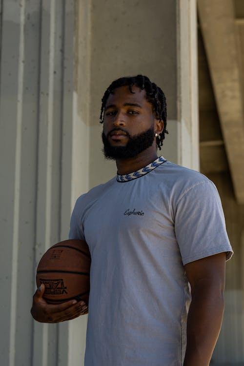 Kostnadsfri bild av ansiktshår, ansiktsuttryck, basketboll