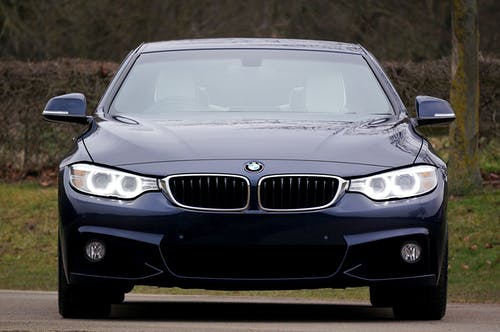 Blue Bmw 4-series