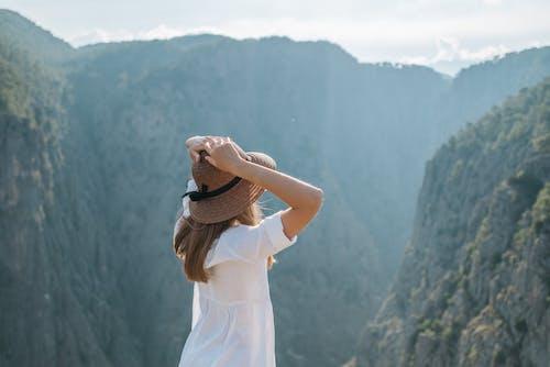 人, 健行, 夏天 的 免費圖庫相片