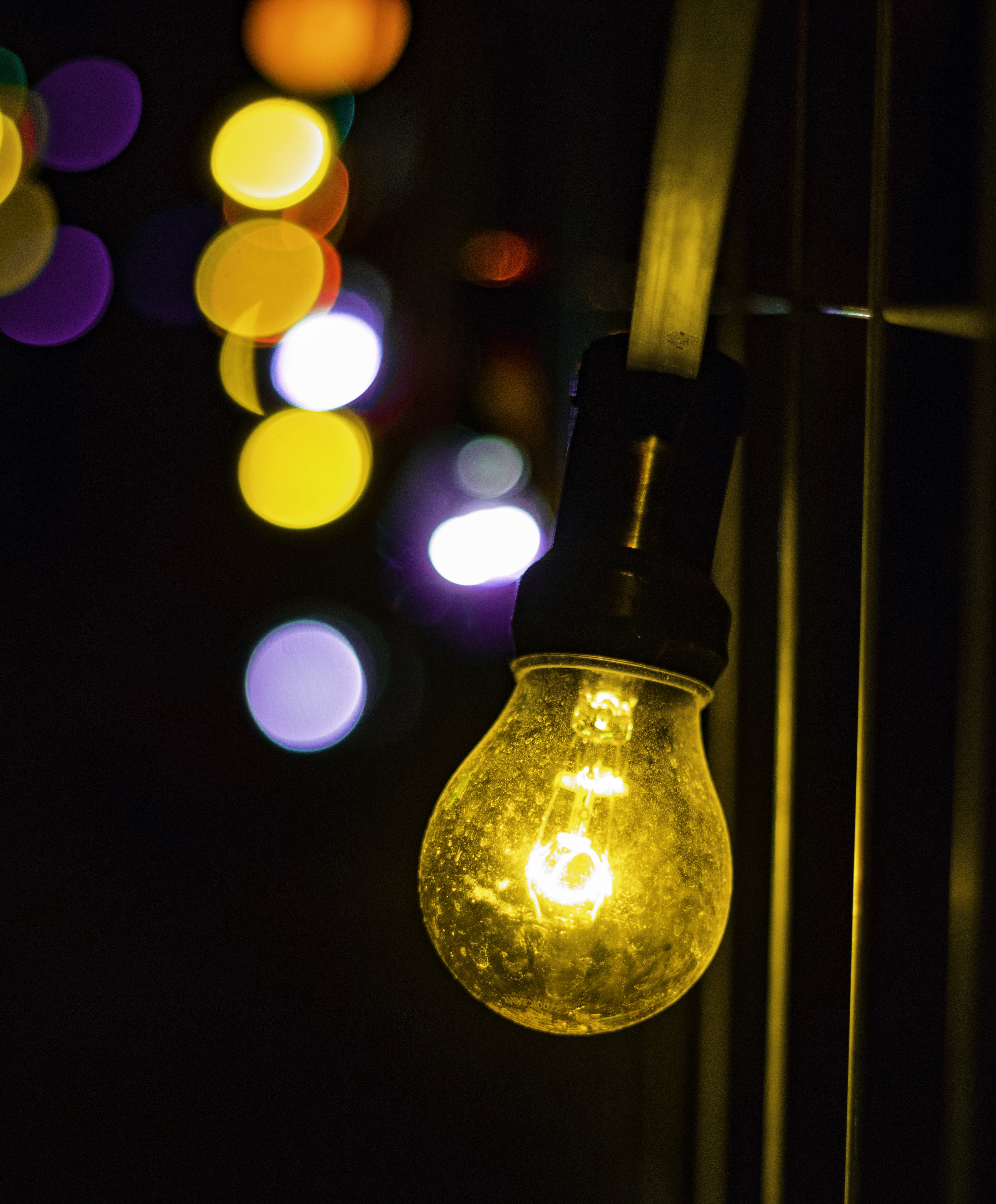 Free stock photo of bokeh, ceiling lamp, colorful, colors