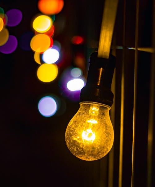 Gratis stockfoto met fel, kleuren, kleurrijk, lamp