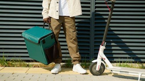 キックスクーター, スクーター, デリバリーの無料の写真素材