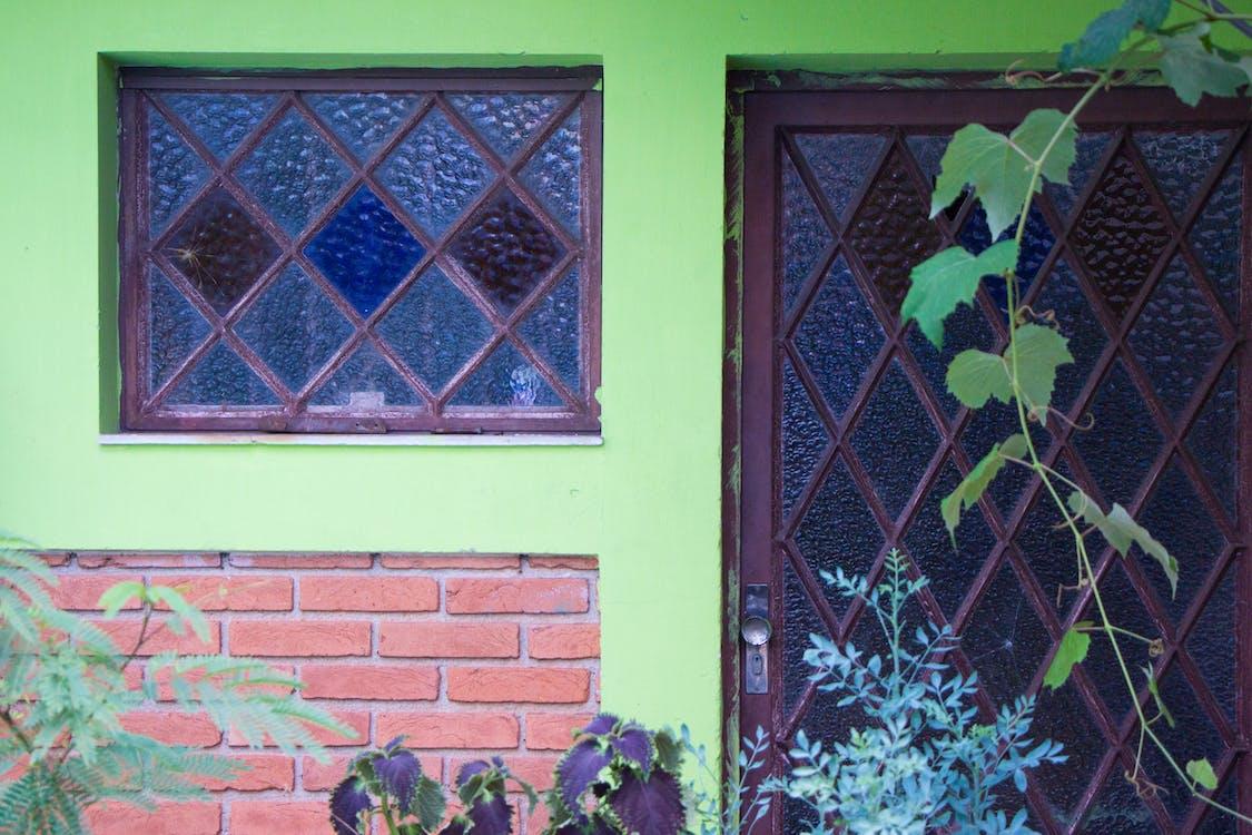 design, dveře, flowre