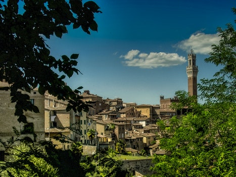 Free stock photo of city, village, italy, town