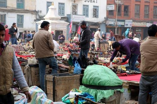 คลังภาพถ่ายฟรี ของ #brassmarket, #streetsellers