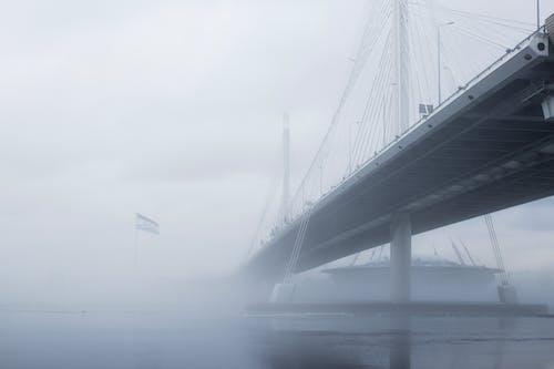 Foto d'estoc gratuïta de arquitectura, boira, cel