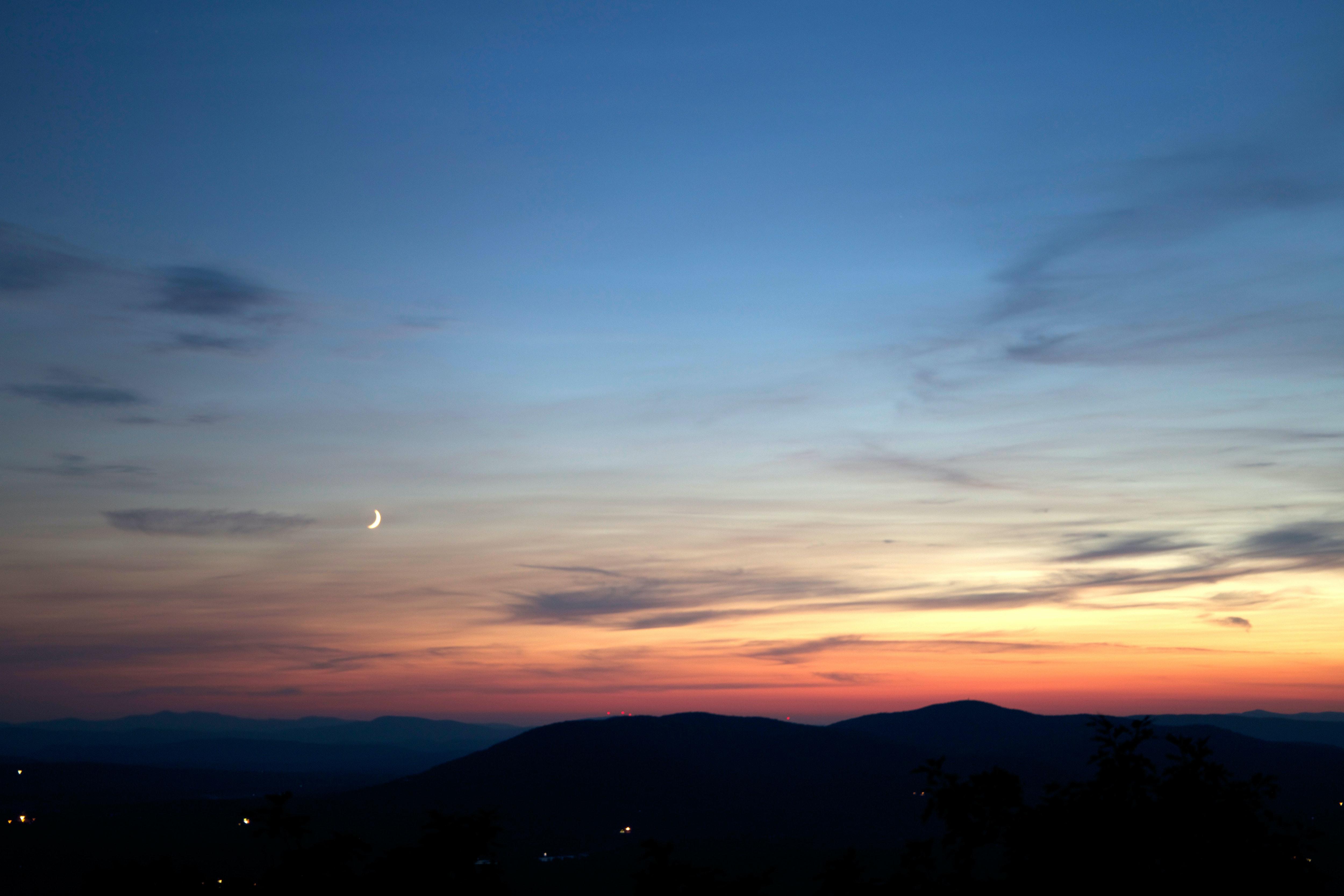 Image of sunset sky