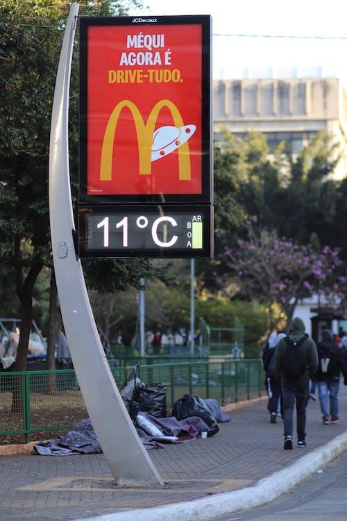 寒い - 気温の無料の写真素材