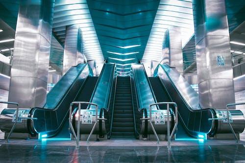 Kostnadsfri bild av blå, metro, mörk, mörkblå