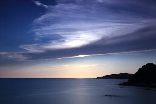 Δωρεάν στοκ φωτογραφιών με θάλασσα, θαλασσογραφία, μπλε, ουρανός