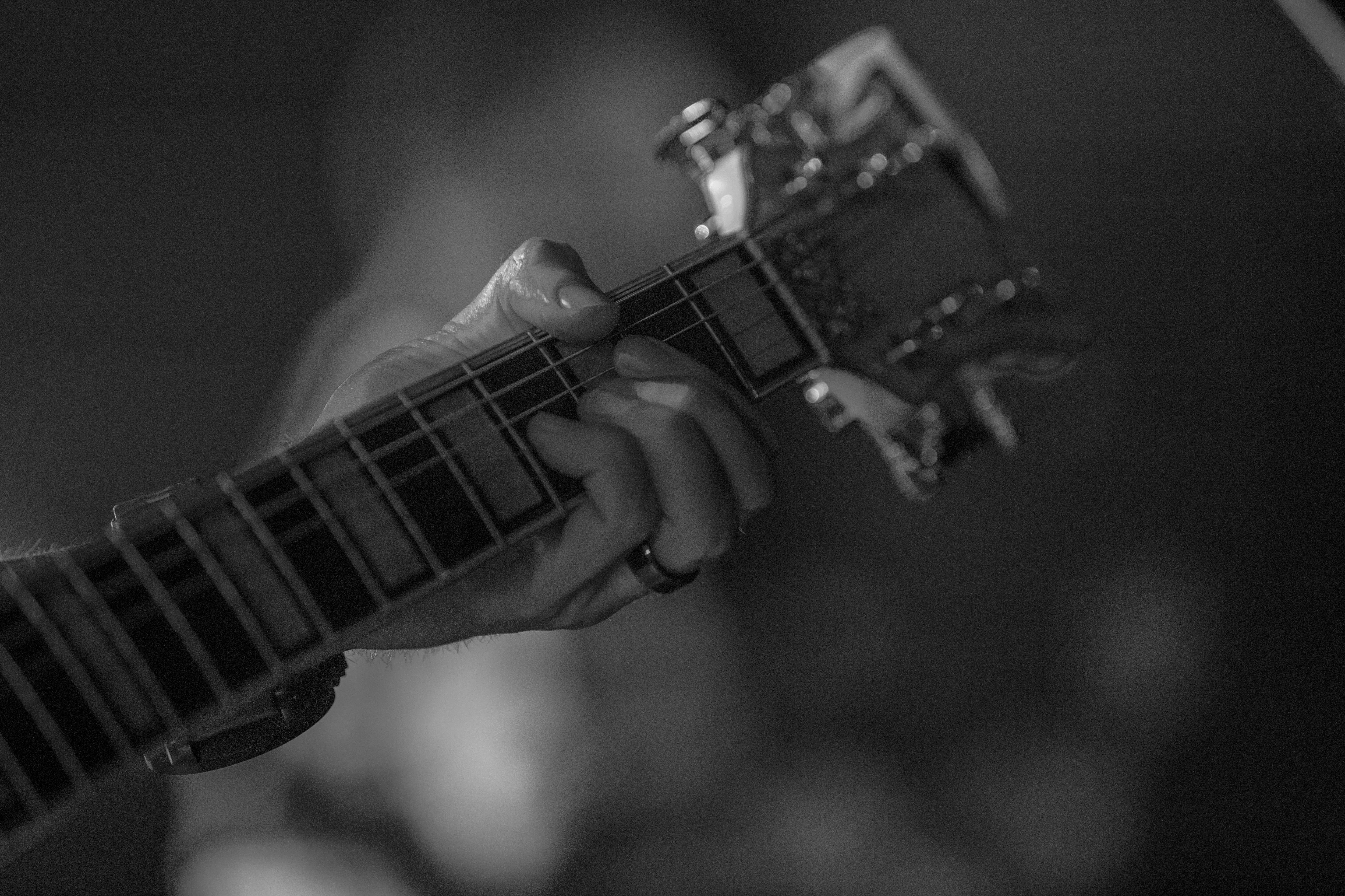 Free stock photo of fingers, guitar, guitar neck, music