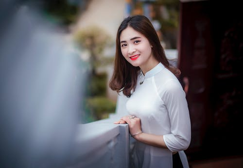 アジア人の女の子, ファッション, ポーズ, ほほえむの無料の写真素材
