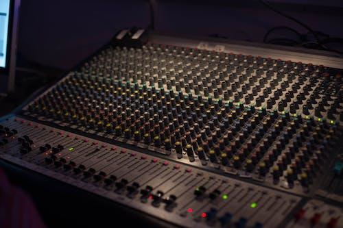 Free stock photo of Nicolas DeSarno, sound board