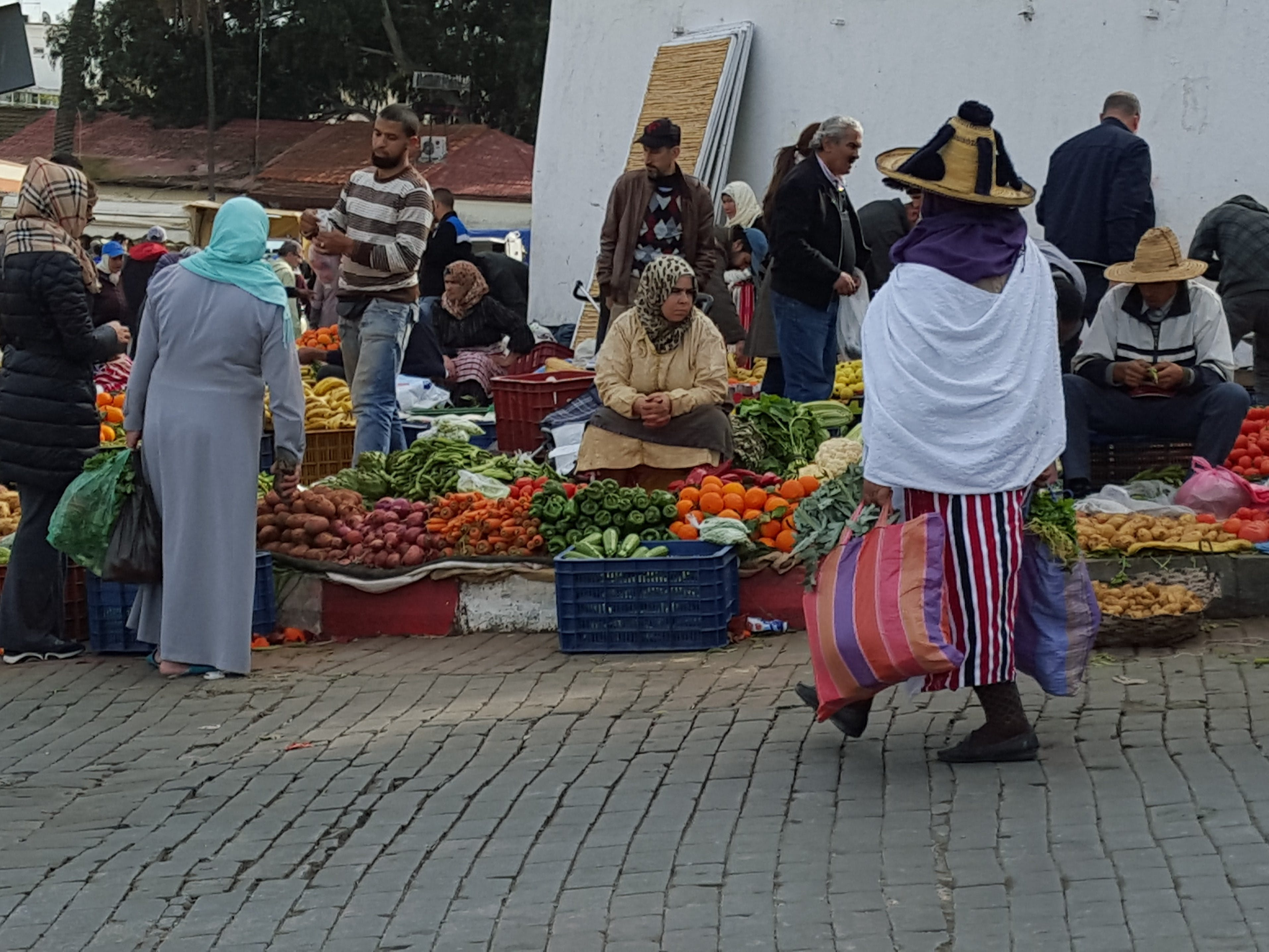 Free stock photo of berber market, grand socco, mobilechallenge, morocco