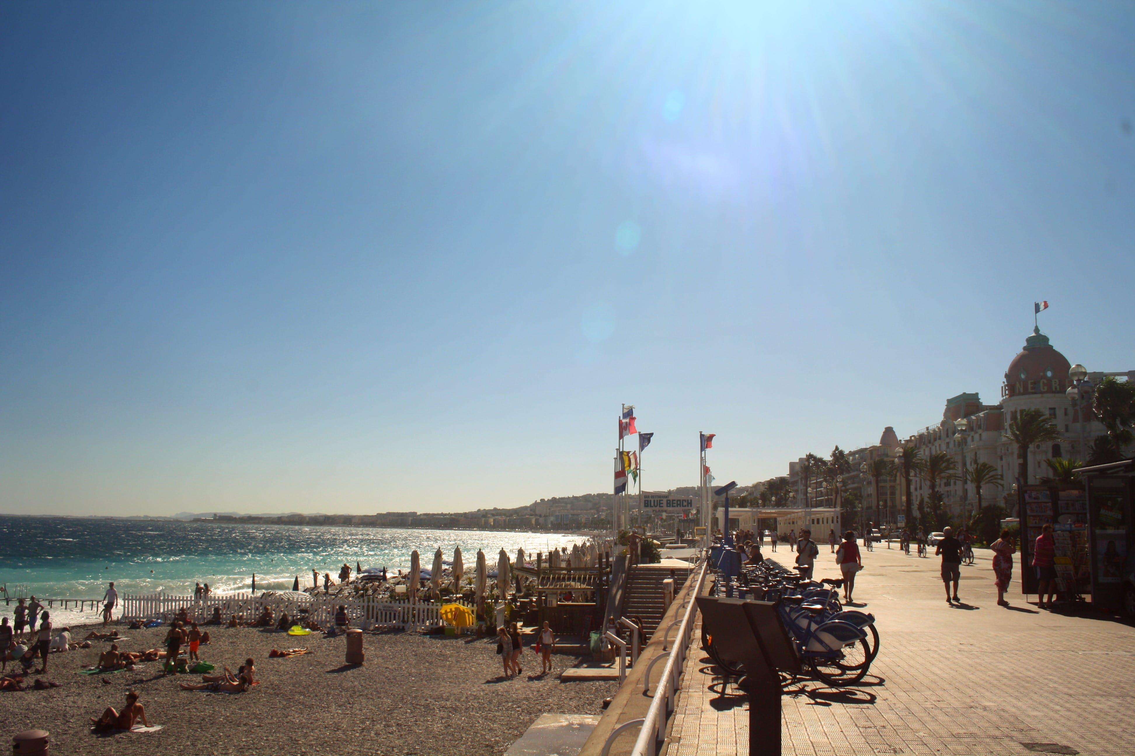 Free stock photo of beach, beach road, europe, france