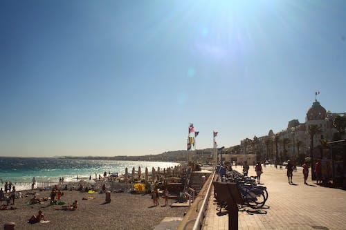 Free stock photo of beach, beach road, europe