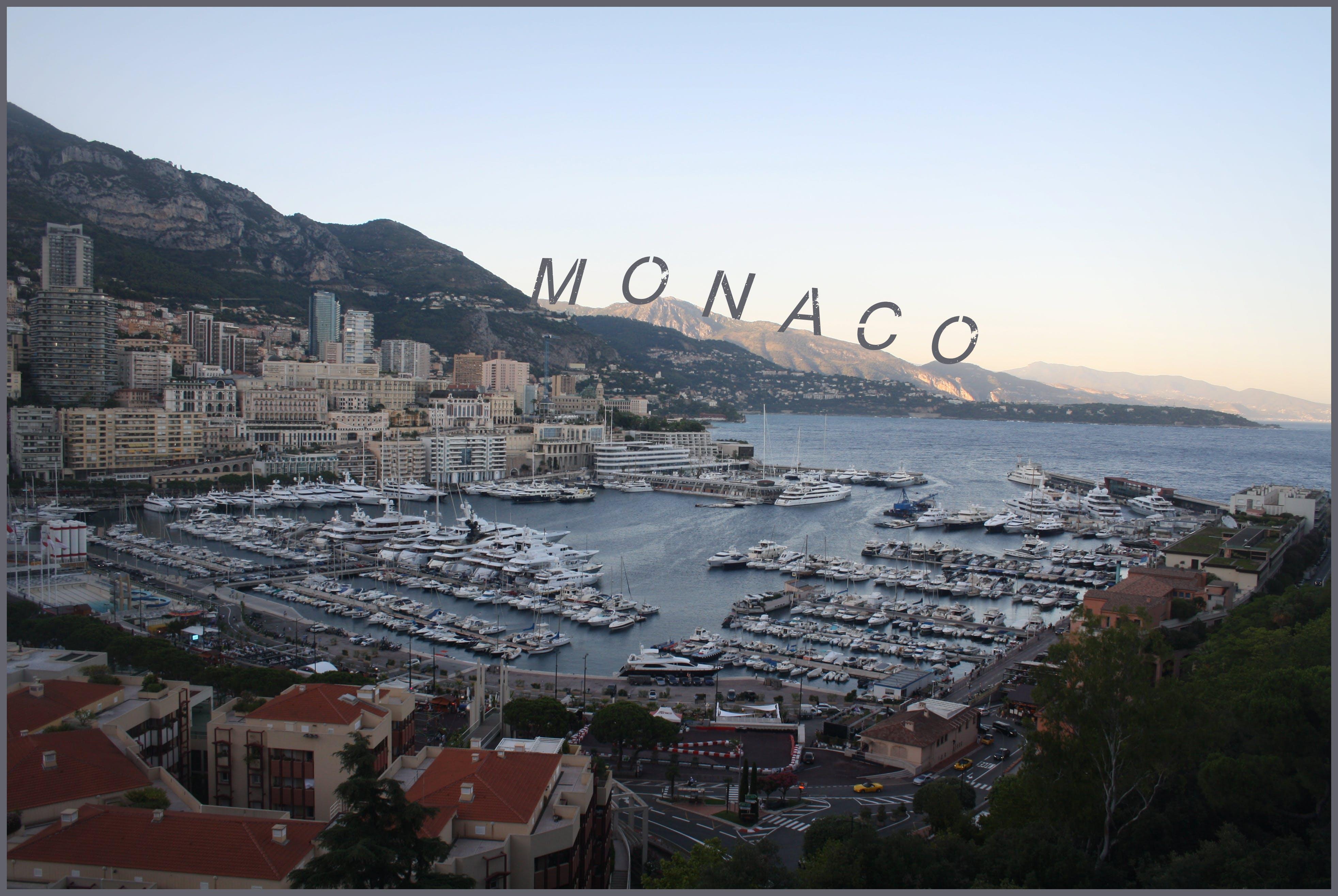 Free stock photo of monaco, monaco city, monaco harbor, monaco postcard
