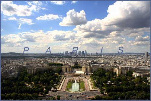 Free stock photo of city, france, paris