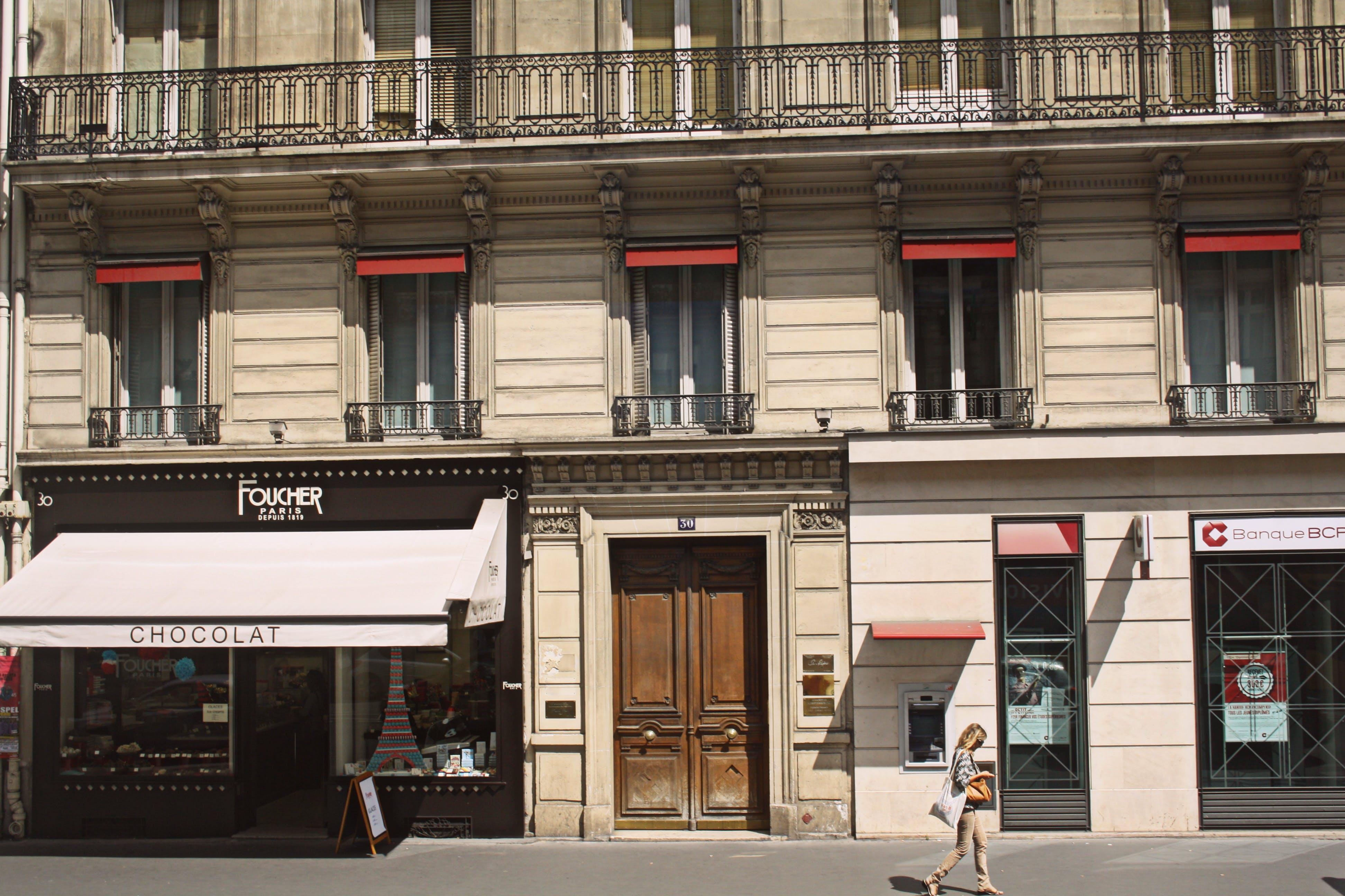 Free stock photo of city, city life, foot path, paris