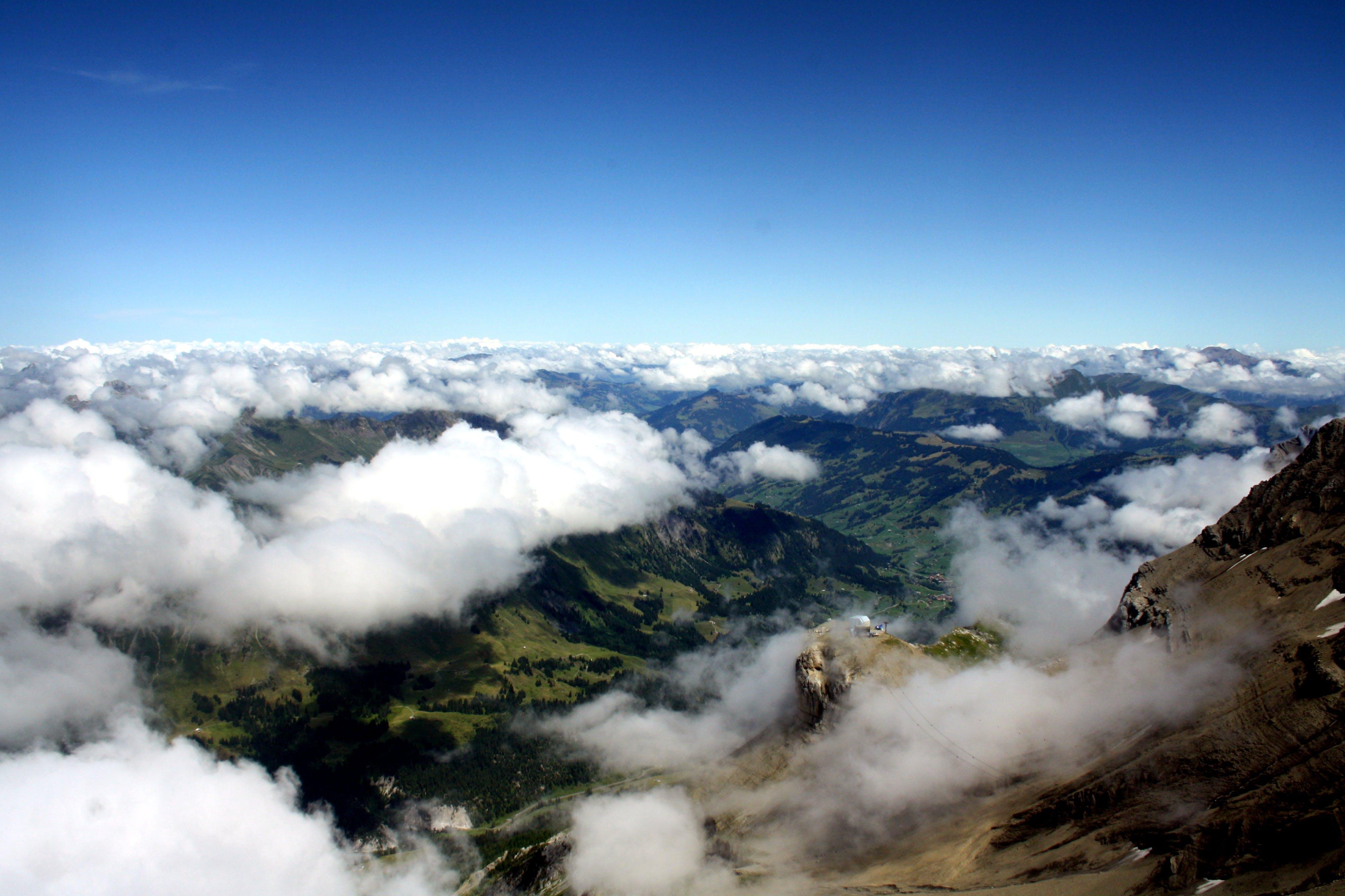 Free stock photo of mountain, nature, snow, snow capped mountain