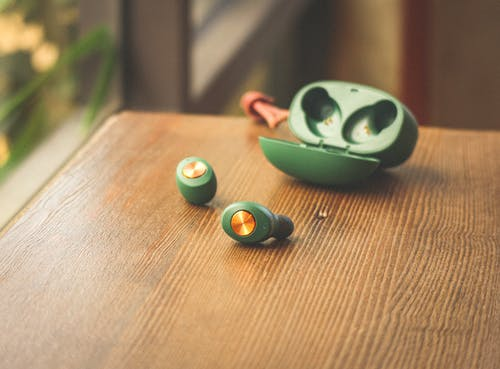 Green and Black Round Plastic Toy