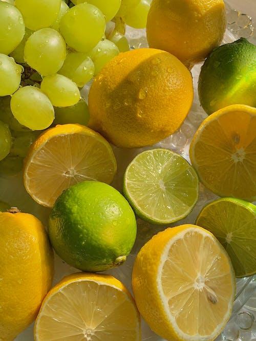 A Close-Up Shot of Tropical Fruits