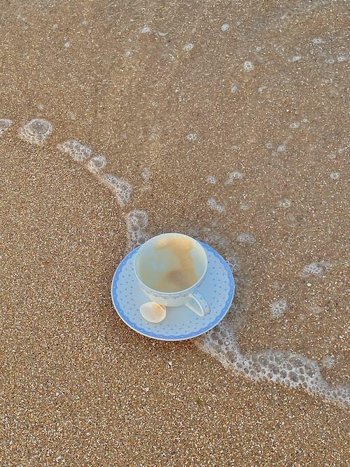 Δωρεάν στοκ φωτογραφιών με ακτή, άμμος, κατακόρυφη λήψη