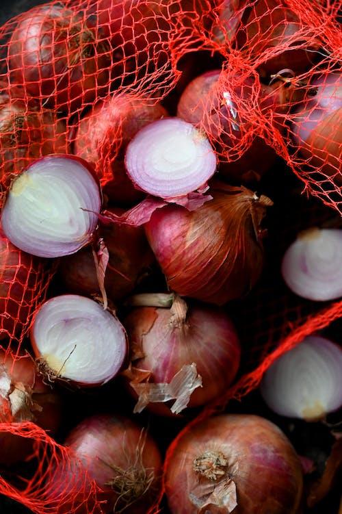 Foto profissional grátis de agricultura, alho, alimento