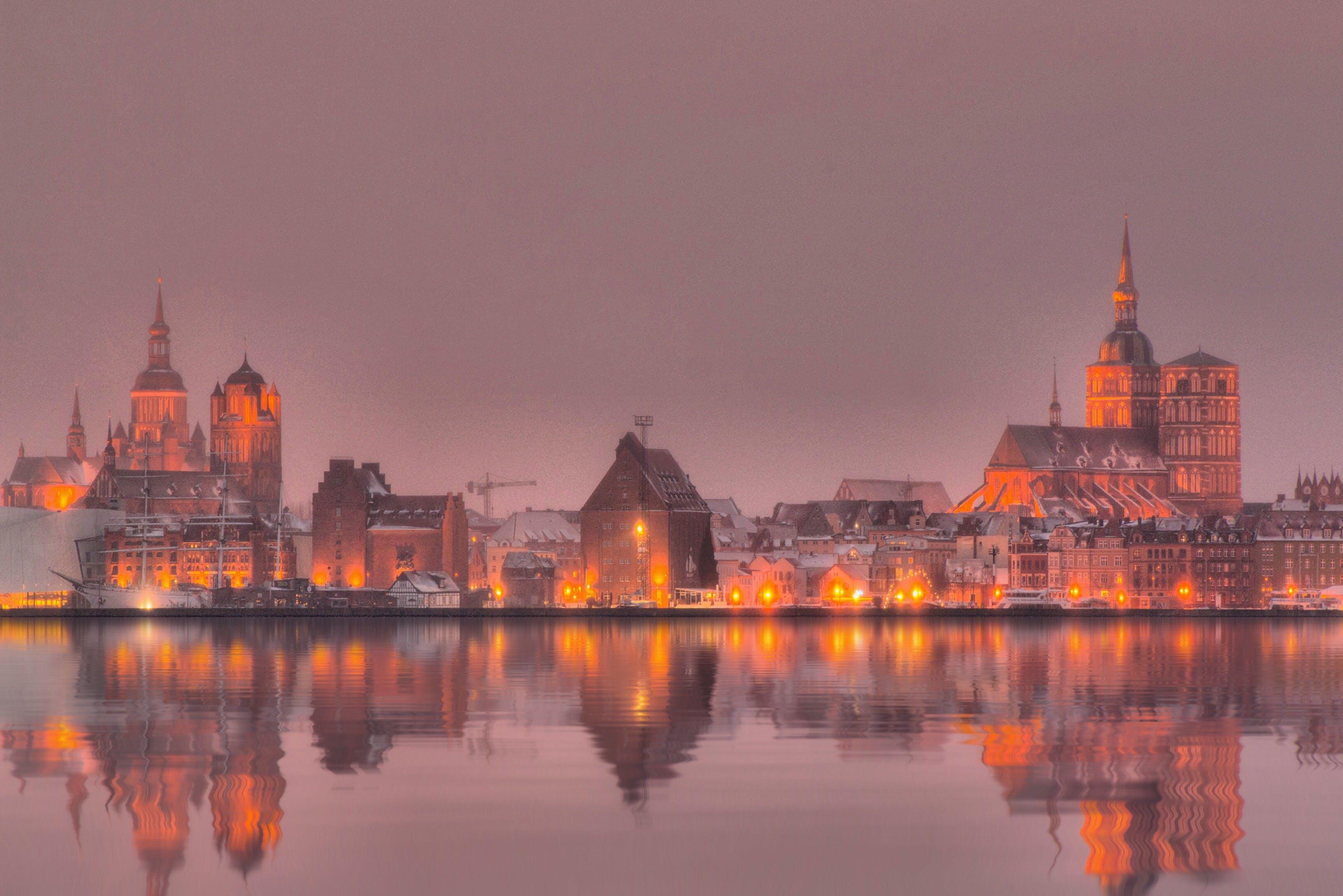 Ingyenes stockfotó kirche, licht, lichter der stadt, part témában