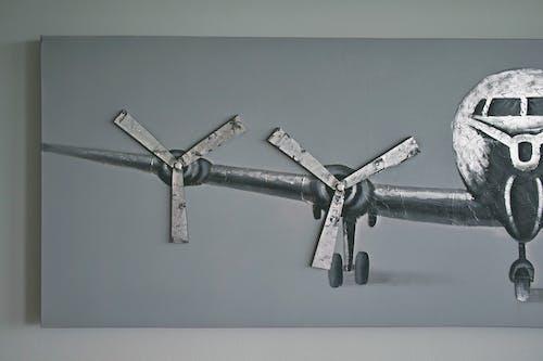 Foto d'estoc gratuïta de aeroport, art, avió, avions