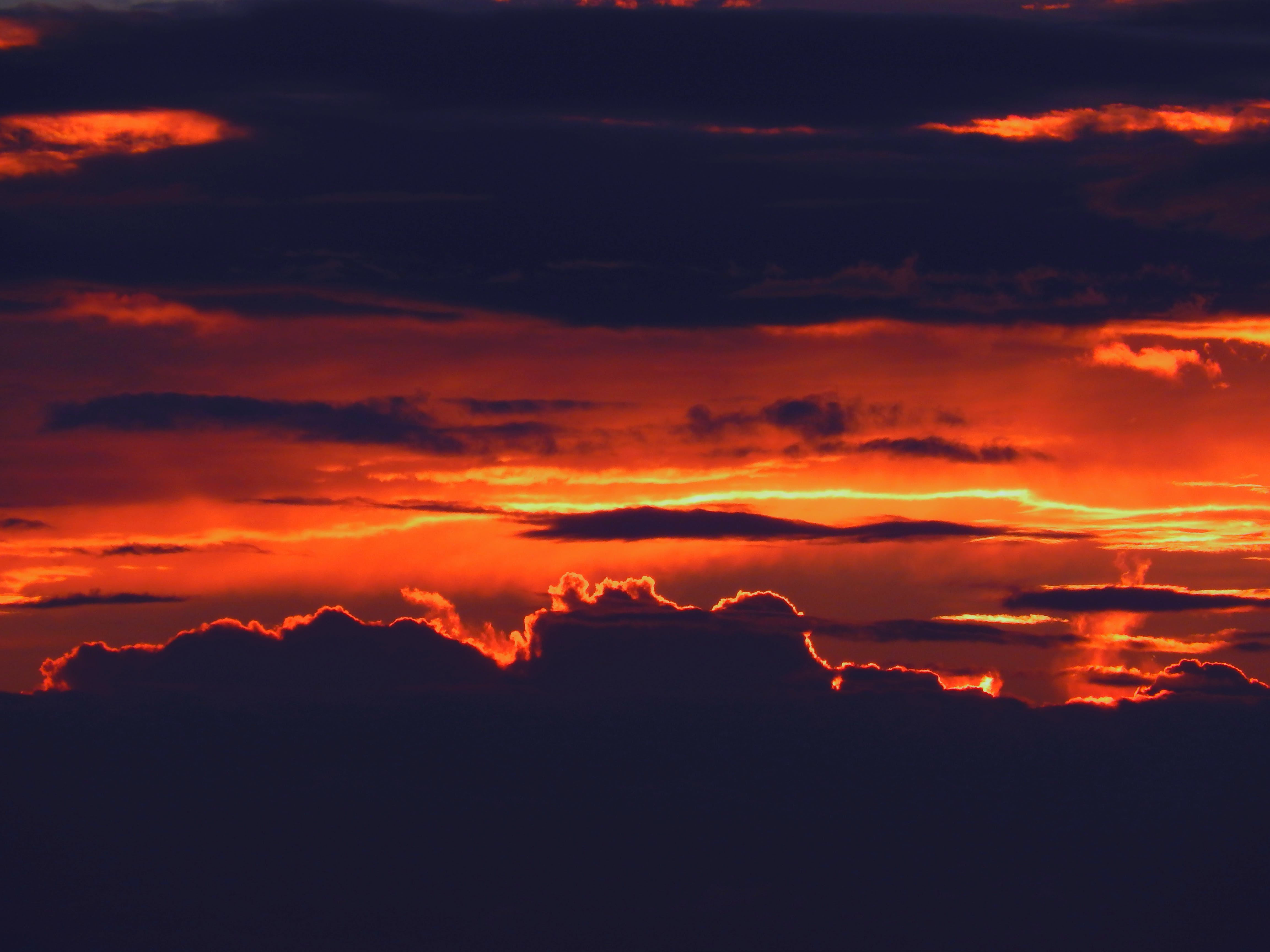 Silhouette of Clouds