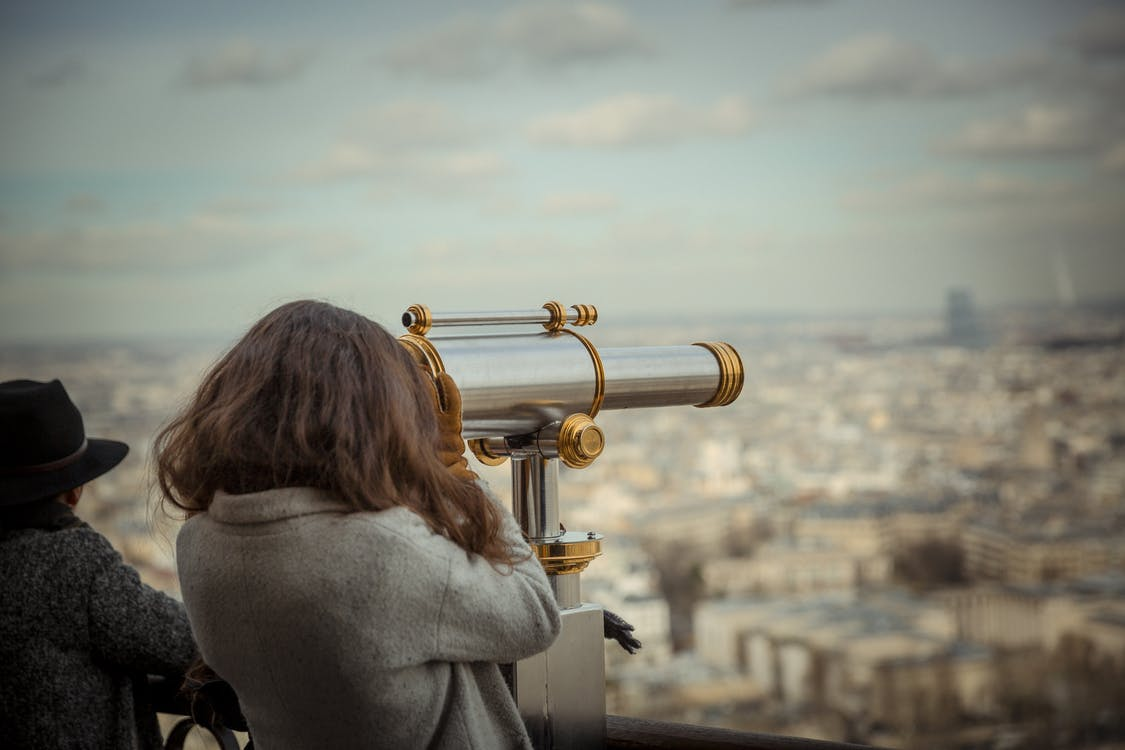 Person Using Telescope · Free Stock Photo