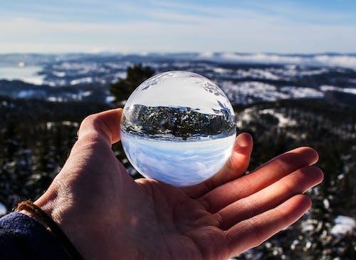 Gratis stockfoto met blauwe lucht, golven, h2o, hand