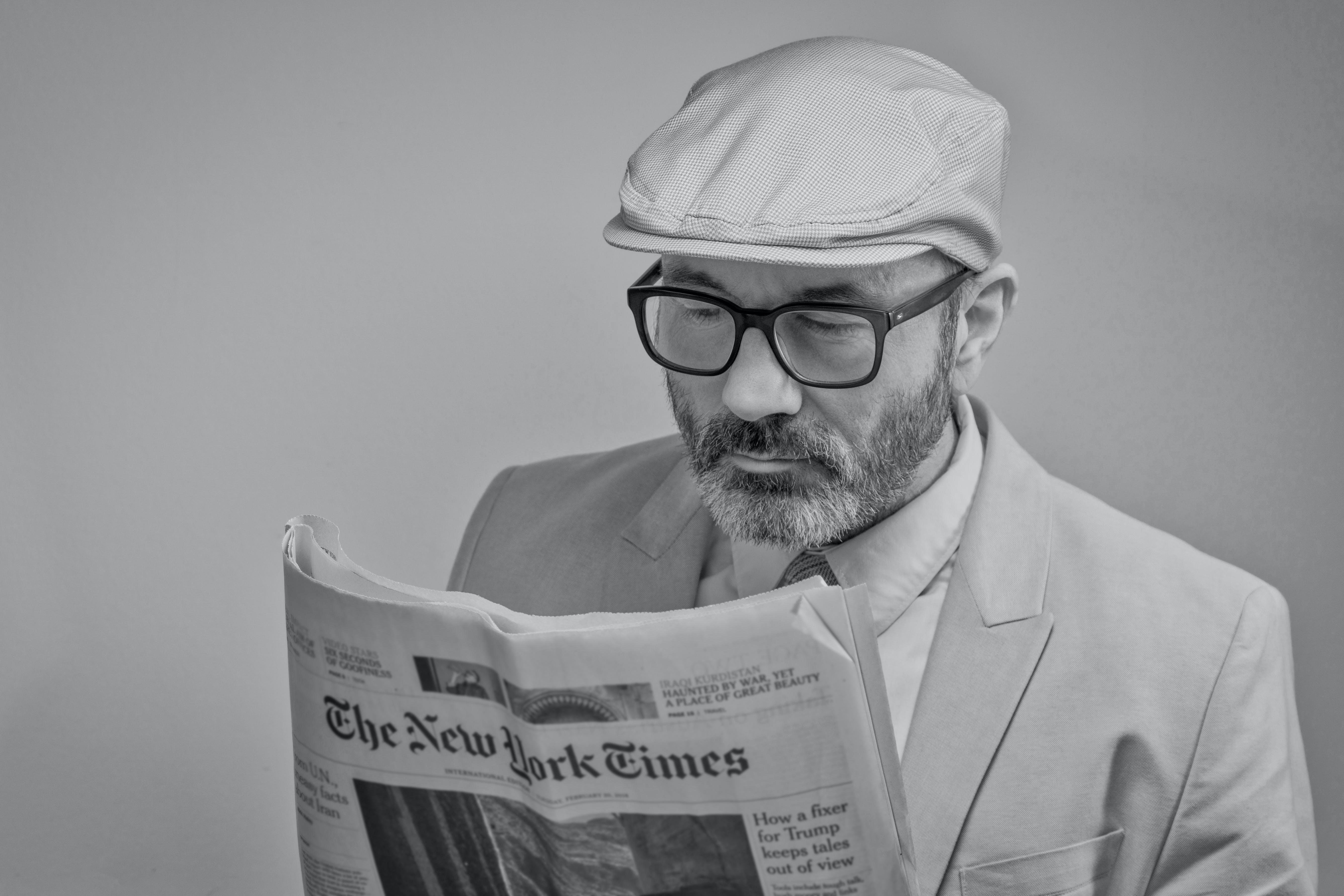 人, 報紙, 媒體