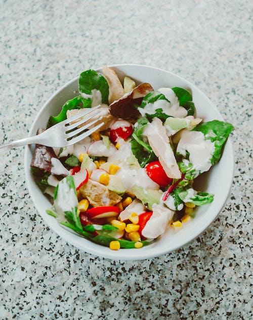 Immagine gratuita di insalata, quorn, salutare