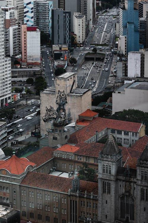 Foto stok gratis Apartemen, Arsitektur, atap