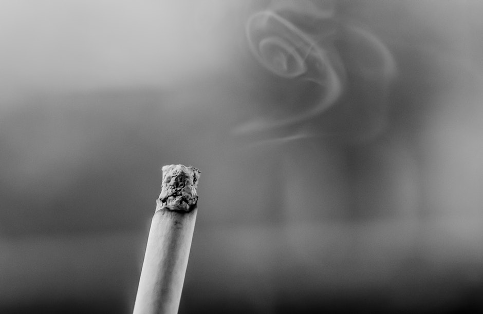 black-and-white, cigarette, fag