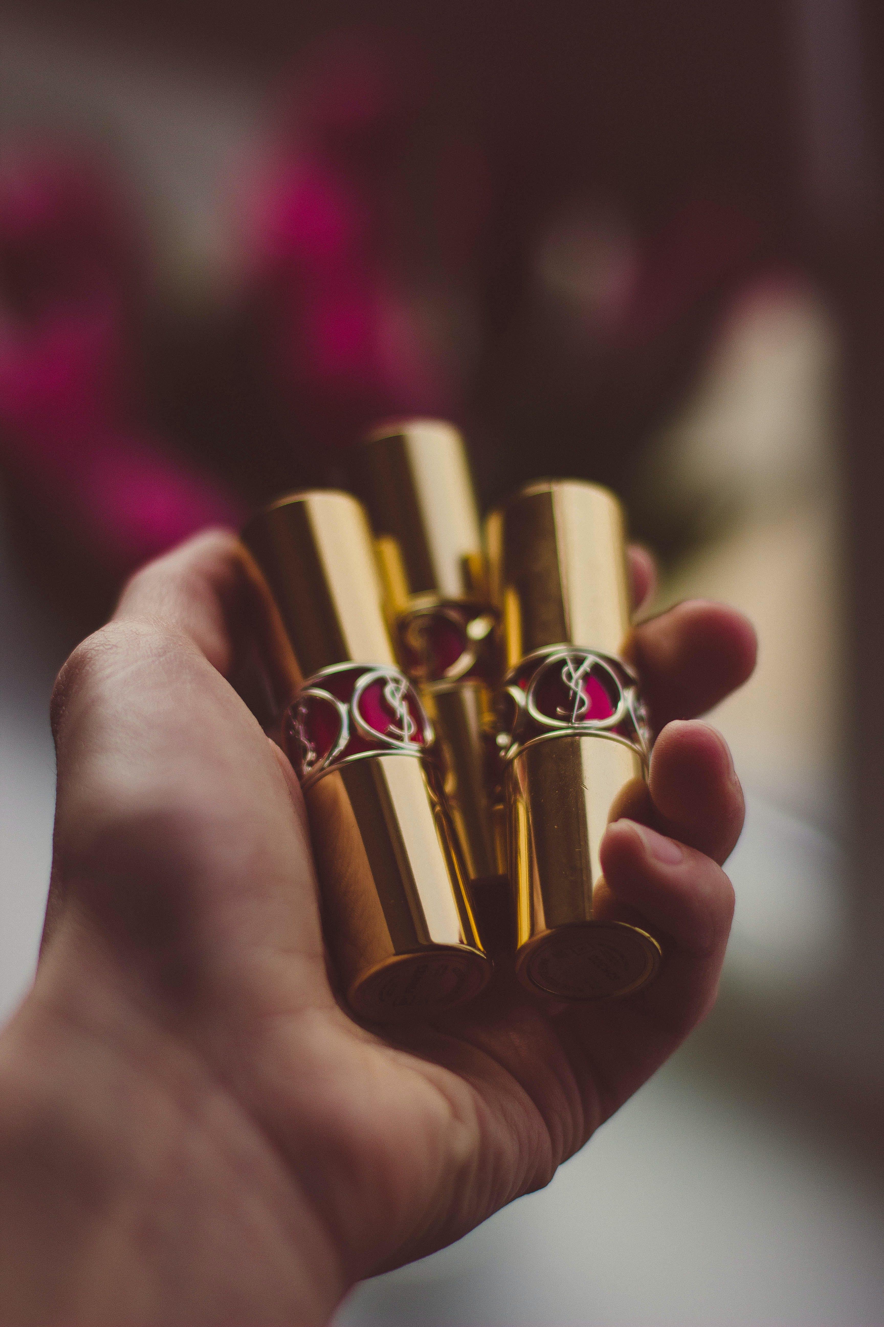 Gold Case Lipstrick