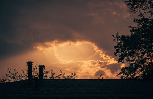 Foto stok gratis angin ribut, angin topan, awan