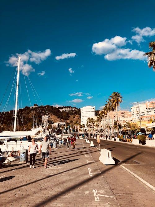 Kostenloses Stock Foto zu himmel, malaga, sommer, strand