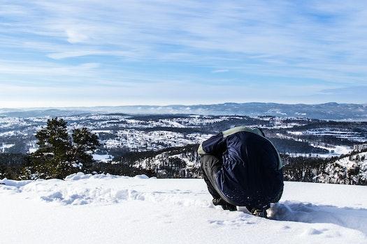 Man at Hill Top