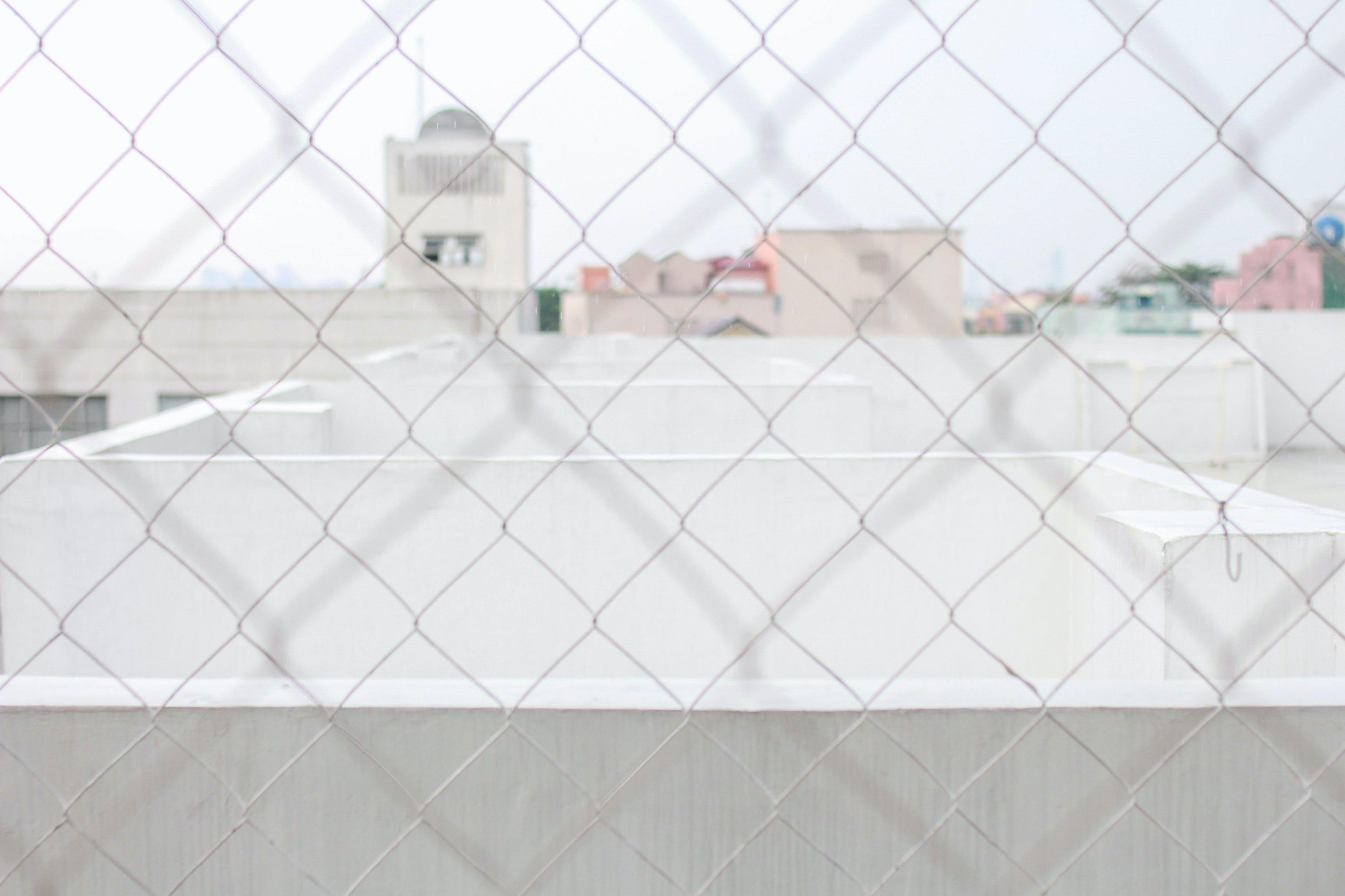 Free stock photo of fences, macro, minimalist, pastel