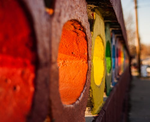 Free stock photo of colorful, defocused, rainbow, rainbow bridge
