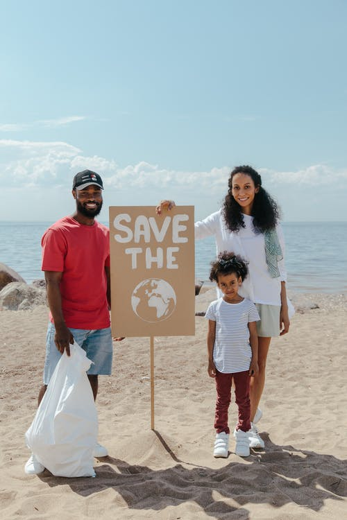 A Family Campaigning to Save The Earth